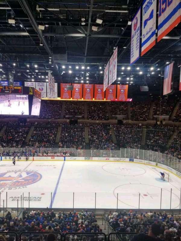 Nassau Veterans Memorial Coliseum, vak: 202, rij: 1, stoel: 1