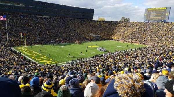 Michigan Stadium, vak: 7, rij: 76, stoel: 34