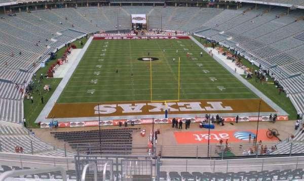 Cotton Bowl, vak: 117, rij: 23, stoel: 31