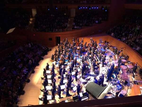 Walt Disney Concert Hall, vak: Terrace West, rij: A, stoel: 24