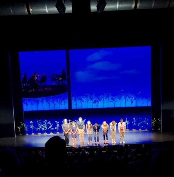 Ahmanson Theatre, vak: Mezz, rij: G, stoel: 26