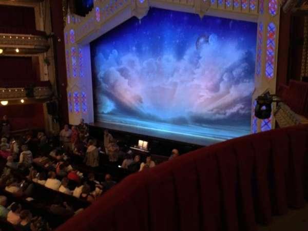 CIBC Theatre, vak: Dress Circle Box 2, rij: BX2, stoel: 206