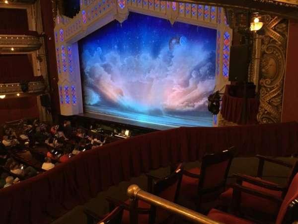 CIBC Theatre, vak: Dress Circle Box 2, rij: BX2, stoel: 212