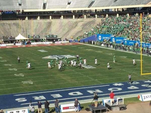 Cotton Bowl, vak: 35, rij: 44, stoel: 9