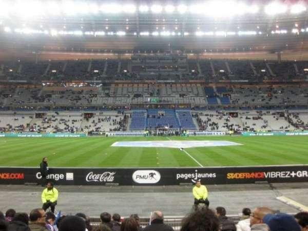 Stade de France, vak: Tribune Base- Est G5, rij: 10, stoel: 10