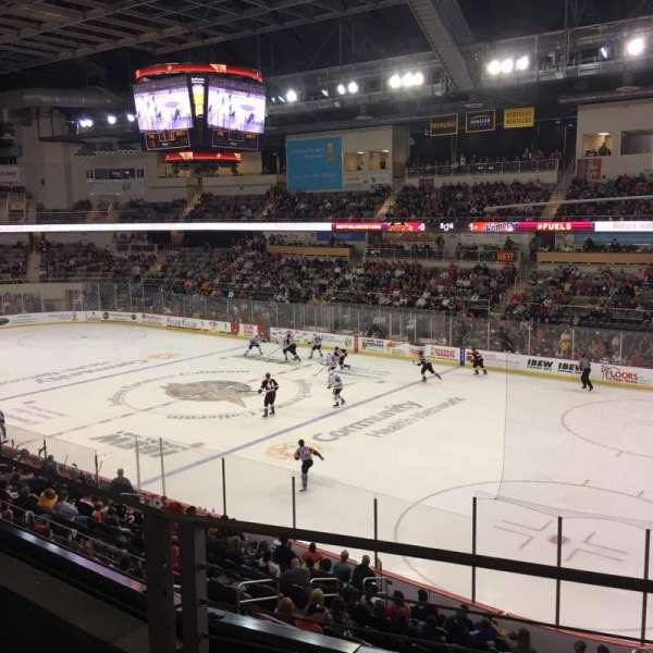 Indiana Farmers Coliseum, vak: 310, rij: B, stoel: 5