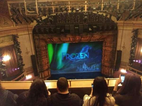 St. James Theatre, vak: Balcony C, rij: C, stoel: 111