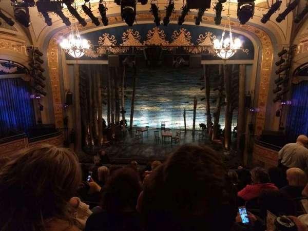 Gerald Schoenfeld Theatre, vak: Mezzanine C, rij: J, stoel: 110