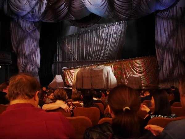 Majestic Theatre, vak: Orchestra Centre, rij: H, stoel: 111