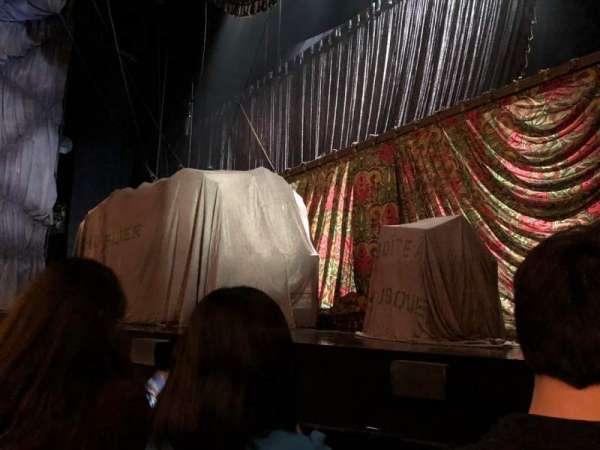 Majestic Theatre, vak: Orchestra Right, rij: BB, stoel: 6