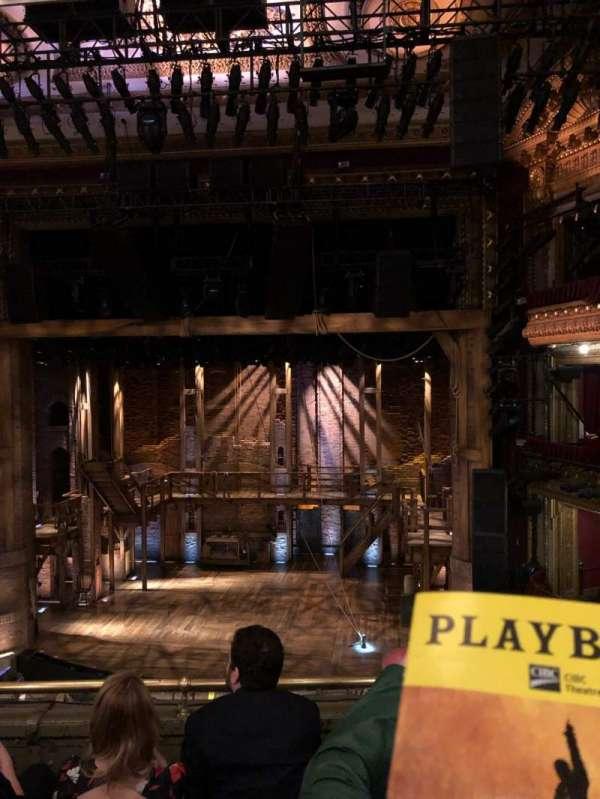 CIBC Theatre, vak: Mezz RC, rij: D, stoel: 314