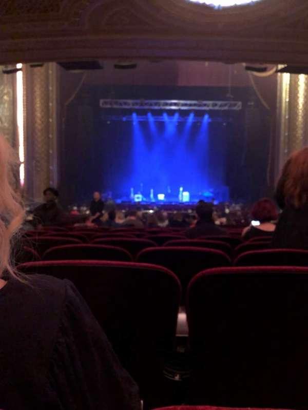 Wang Theatre, vak: Orch C, rij: CC, stoel: 103