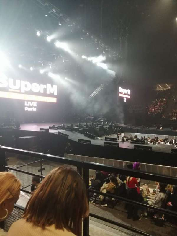 AccorHotels Arena, vak: O, rij: 23, stoel: 4