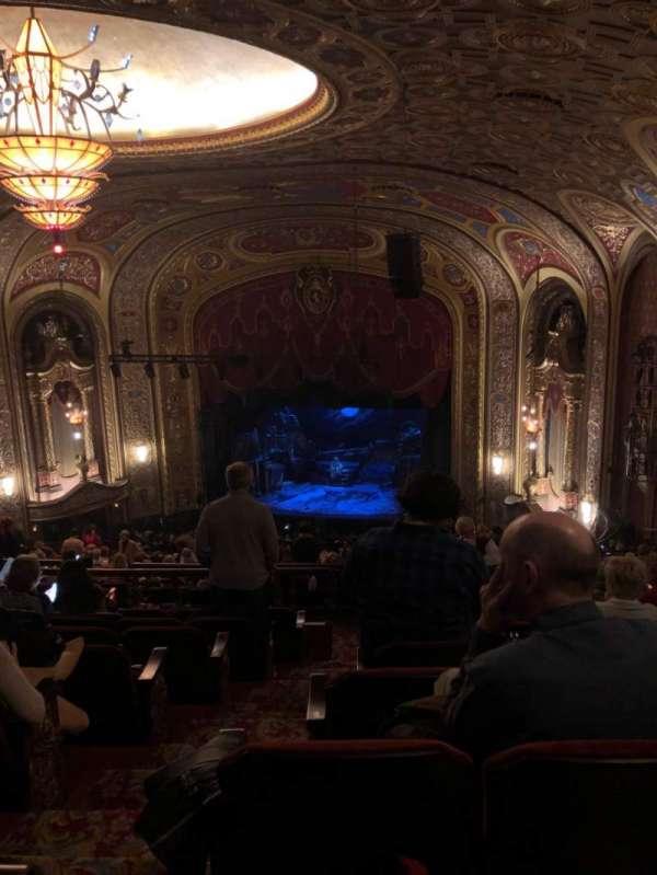 Providence Performing Arts Center, vak: Second Dress Circle (Right), rij: R, stoel: 4
