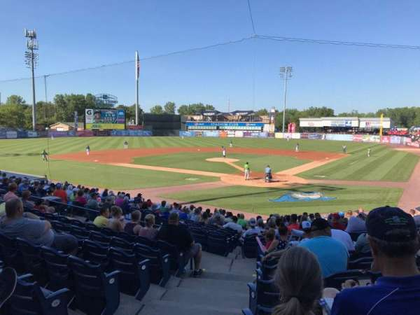 Fifth Third Ballpark, vak: 119, rij: 17, stoel: 16