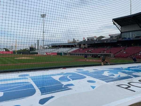 Veterans Memorial Stadium (Cedar Rapids), vak: 116, rij: E, stoel: 1