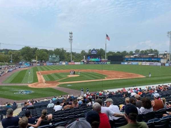 Fifth Third Ballpark, vak: 114, rij: 23, stoel: 13