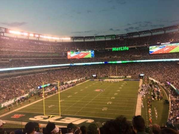 MetLife Stadium, vak: 223, rij: 7, stoel: 15