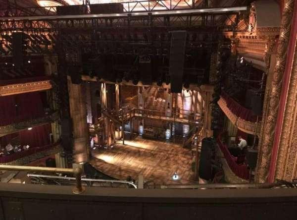 CIBC Theatre, vak: Balcony R, rij: C, stoel: 6
