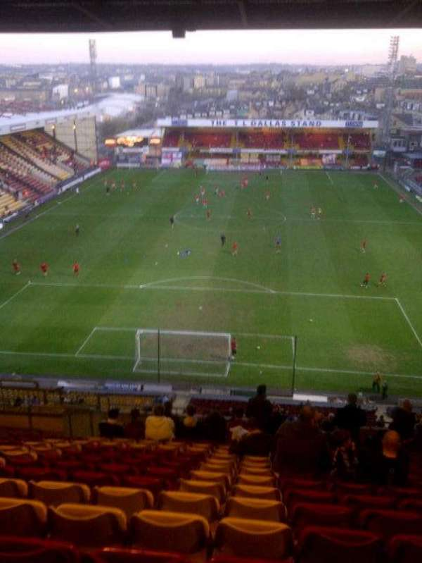 Valley Parade, vak: kop..
