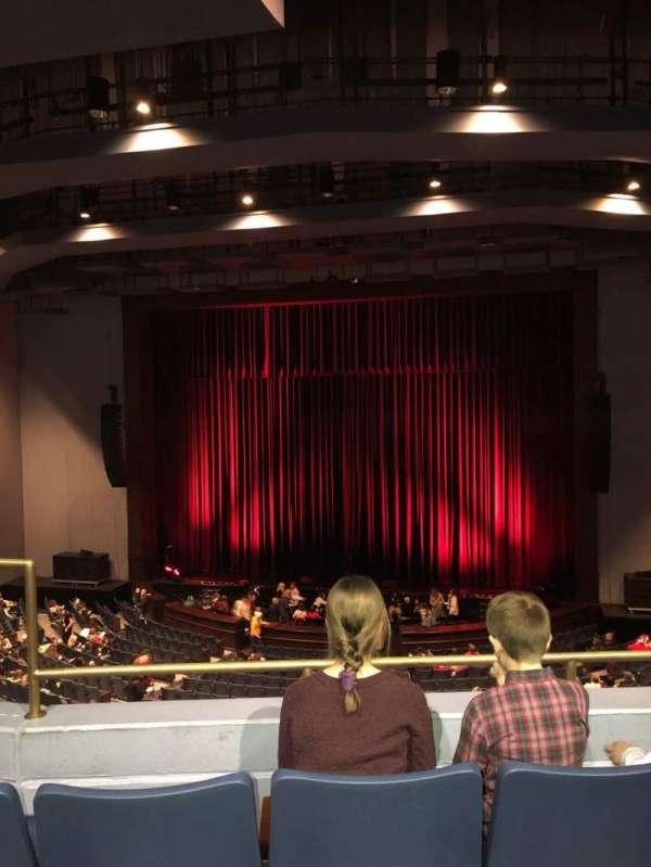Rosemont Theatre, vak: 205, rij: C, stoel: 3