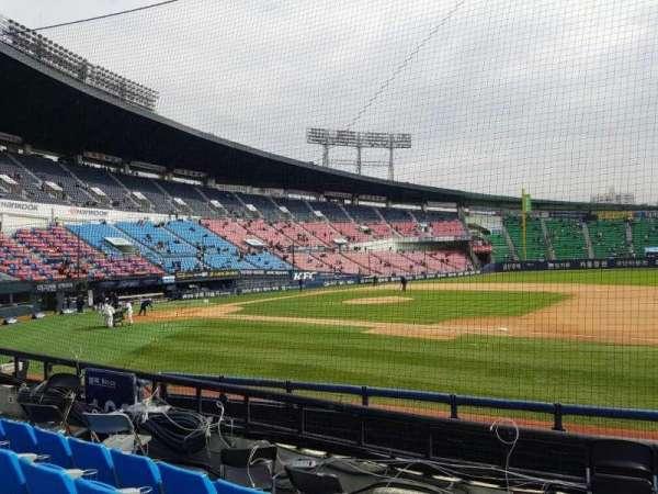 Jamsil Baseball Stadium, vak: 107, rij: 5, stoel: 73