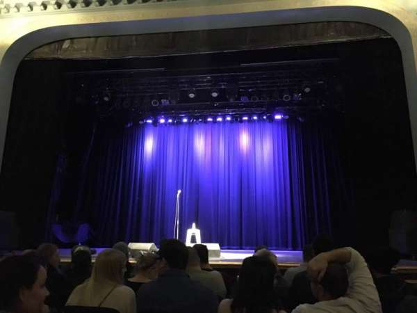 Danforth Music Hall, vak: ORCH1, rij: F, stoel: 21