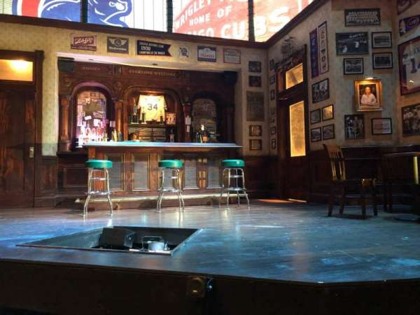 Royal George Theatre, rij: B, stoel: 9
