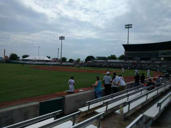 Nelson W. Wolff Municipal Stadium, vak: 119, rij: f, stoel: 6