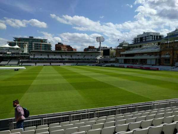 Lord's Cricket Ground, rij: 9, stoel: 38