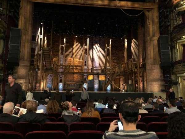 CIBC Theatre, vak: Orchestra C, rij: P, stoel: 104