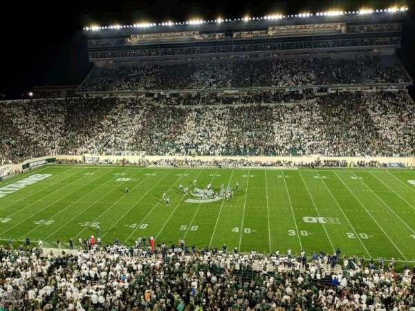 Spartan Stadium, vak: 108, rij: 2, stoel: 12