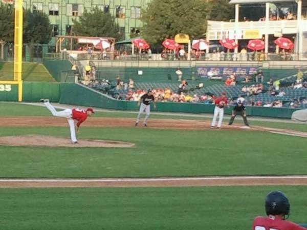 Dr Pepper Ballpark, vak: 108, rij: 10, stoel: 6