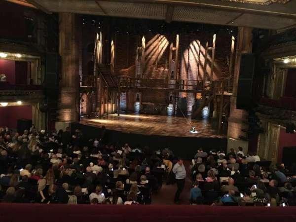 CIBC Theatre, vak: Dress Circle R, rij: A, stoel: 226