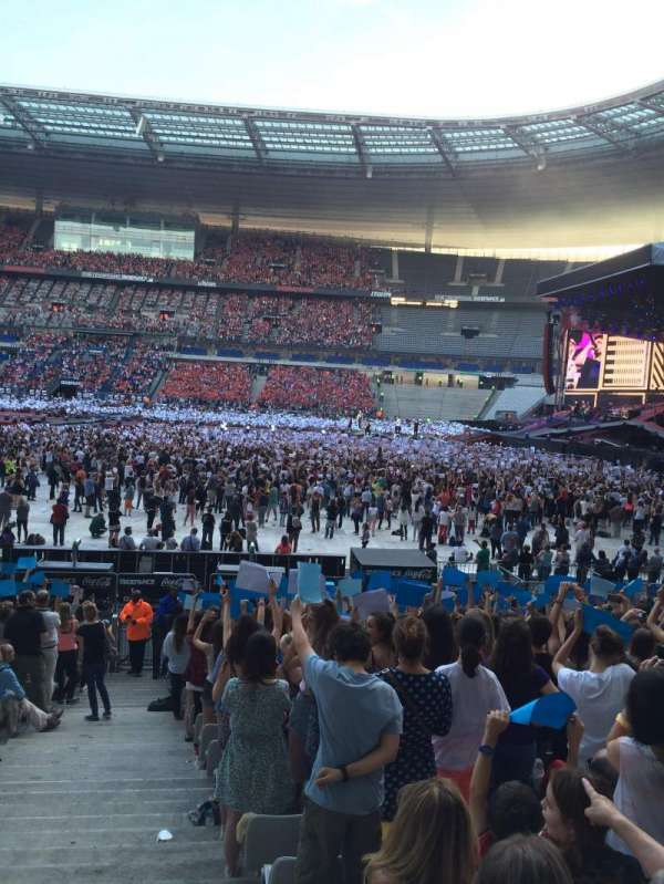 Stade De France, vak: G8, rij: 21, stoel: 36