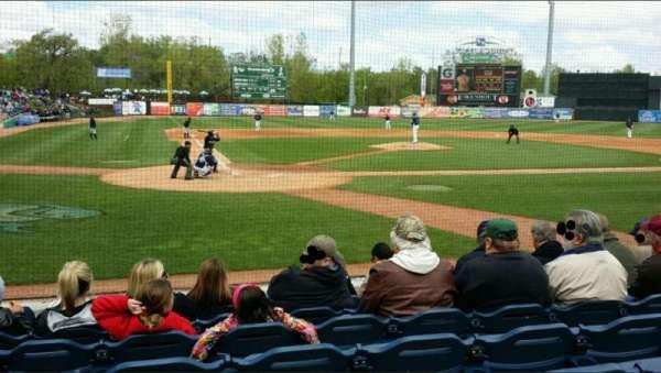 Fifth Third Ballpark, vak: 114, rij: 7, stoel: 16