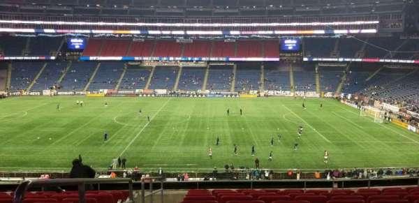Gillette Stadium, vak: Cl8, rij: 10, stoel: 16