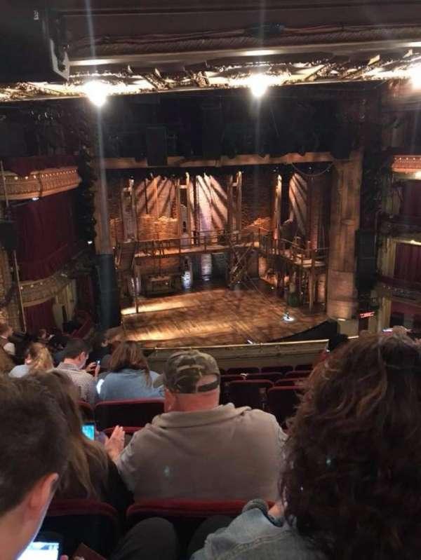 CIBC Theatre, vak: Mezzanine L, rij: J, stoel: 3