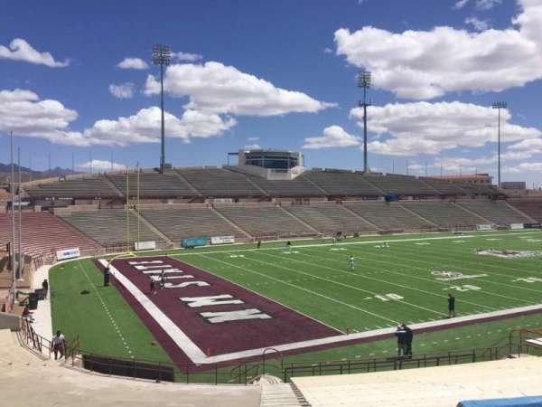 Aggie Memorial Stadium, vak: K, rij: 18, stoel: 36