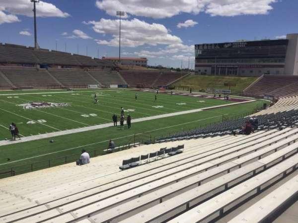 Aggie Memorial Stadium, vak: I, rij: 17, stoel: 31