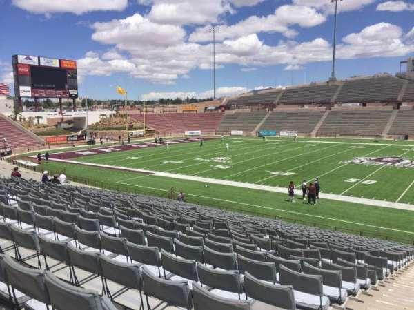 Aggie Memorial Stadium, vak: H, rij: 17, stoel: 1