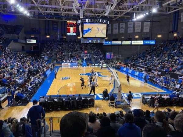 Alumni Arena (University at Buffalo), vak: 119, rij: O, stoel: 8