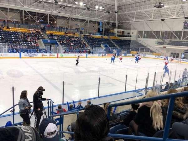 Mattamy Athletic Centre at the Gardens, vak: W6, rij: G, stoel: 2