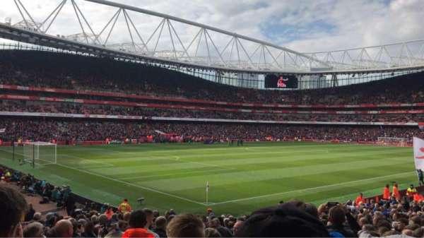 Emirates Stadium, vak: 21, rij: 24, stoel: 647