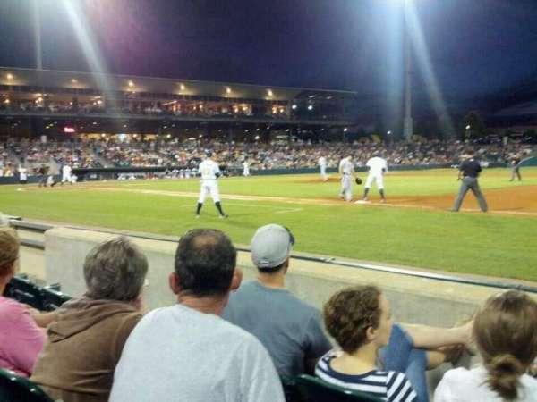 Montgomery Riverwalk Stadium, vak: 118, rij: 3, stoel: 2