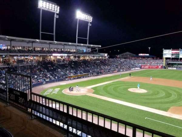 PNC Field, vak: 200, rij: 2, stoel: 9