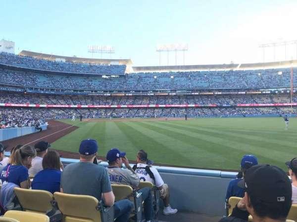 Dodger Stadium, vak: 52FD, rij: E, stoel: 1