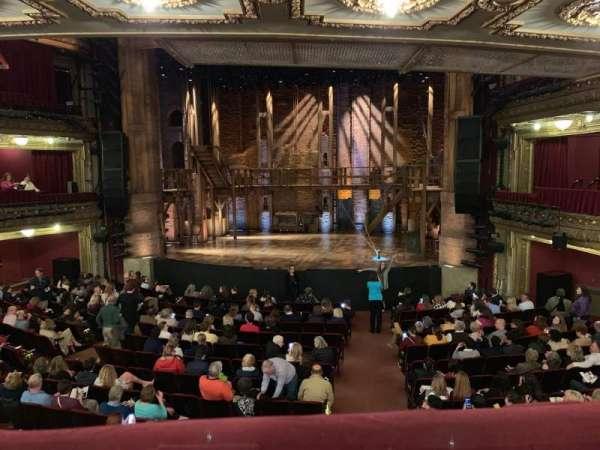 CIBC Theatre, vak: Dress Circle RC, rij: A, stoel: 222