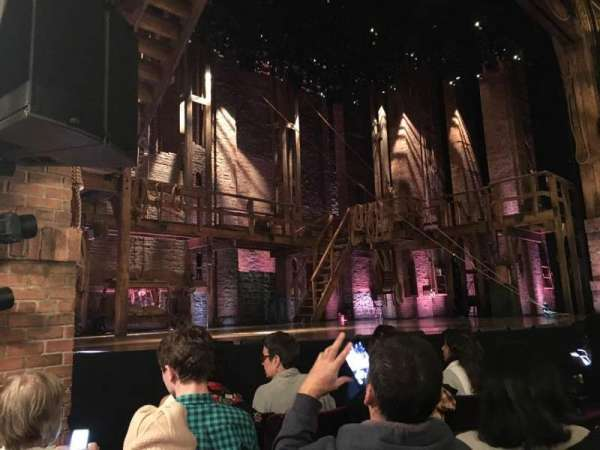 Richard Rodgers Theatre, vak: Orchestra L, rij: D, stoel: 15