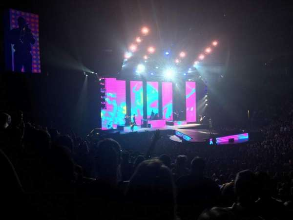 PPG Paints Arena, vak: 112, rij: P, stoel: 14